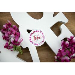 Naklejki WITH LOVE  - 1