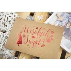 """Folder """"Wesołych Świąt"""" - 15x23 - EKO  - 2"""