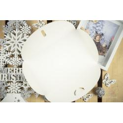 """Folder """"Wesołych Świąt"""" - 15x23 - BIAŁY  - 4"""