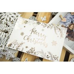 """Folder """"Merry Christmas"""" - 15x23 - BIAŁY  - 2"""