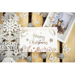 """Folder """"Merry Christmas"""" - 15x23 - BIAŁY  - 1"""