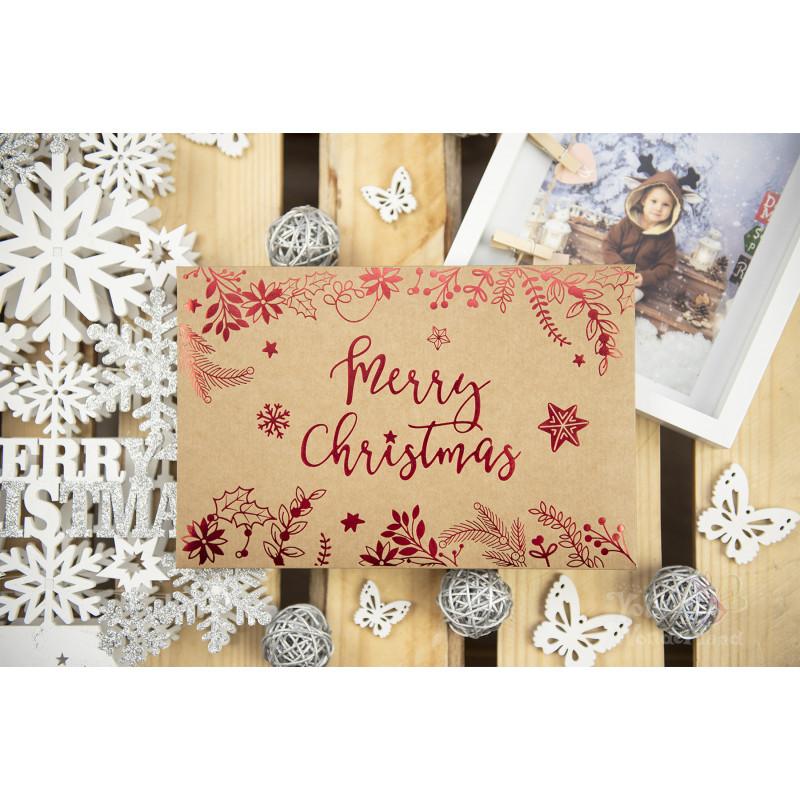 "Folder ""Merry Christmas"" - 15x23 - EKO  - 1"