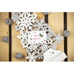 Podziękowanie - MERRY CHRISTMAS  - 1