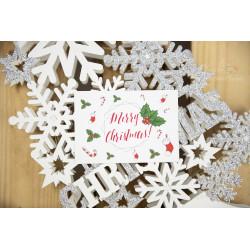 Podziękowanie - MERRY CHRISTMAS  - 2