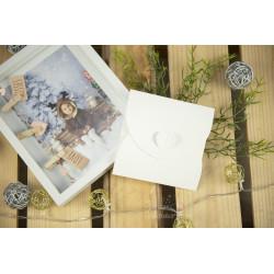 Folder na płytę MERRY CHRISTMAS - BIAŁY  - 3