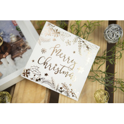Folder na płytę MERRY CHRISTMAS - BIAŁY  - 2