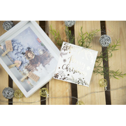 Folder na płytę MERRY CHRISTMAS - BIAŁY  - 1