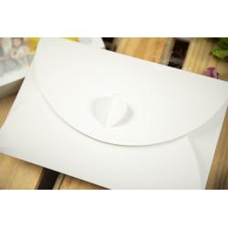 """Folder z okienkiem """"chmurka"""" - 15x23 - BIAŁY  - 4"""