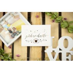 """Folder """"Piękne chwile"""" - 13x18 - BIAŁY  - 1"""