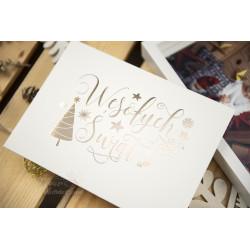 """Folder """"Wesołych Świąt"""" - 13x18 - BIAŁY  - 1"""